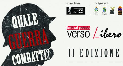 Festival poetico Verso Libero 2015 a Fondi